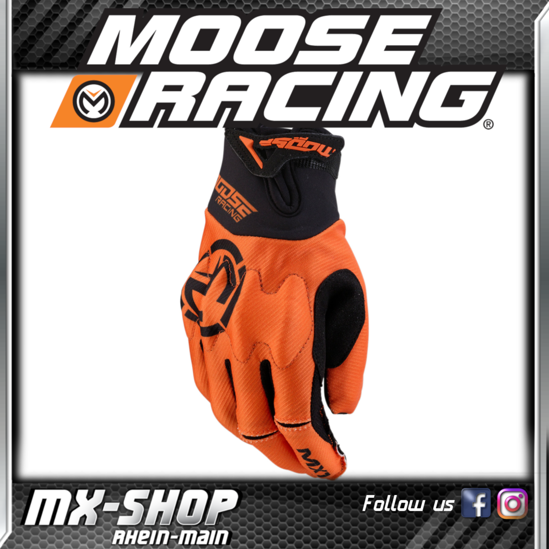 Moose-Racing Handschuhe MX1 Orange