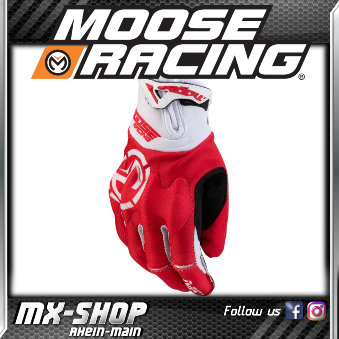 Moose-Racing Handschuhe MX1 Rot