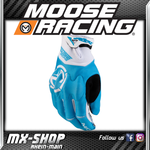 Moose-Racing Handschuhe MX1 Blau