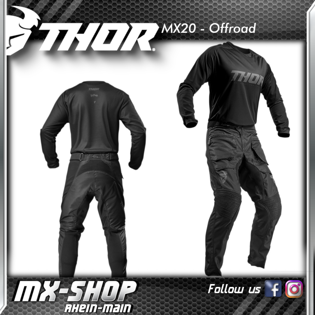 THOR Offroad-Combo TERRAIN BLACK 2020