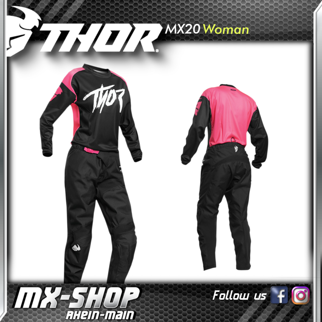 THOR MX-Combo WOMEN'S SECTOR LINK PINK 2021
