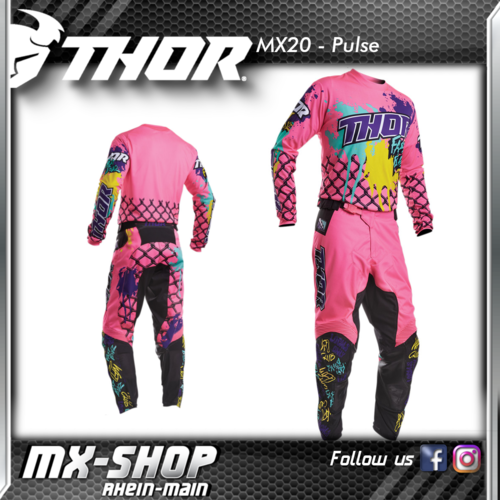 THOR Kinder MX-Combo PULSE FAST BOYZ PINK 2020
