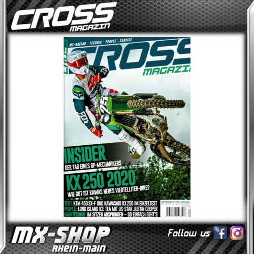 CROSS-Magazin September 2019