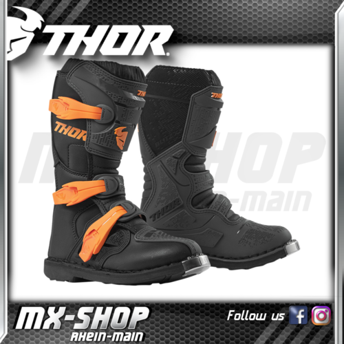 THOR MX Kinder-Stiefel Blitz XP schwarz-orange