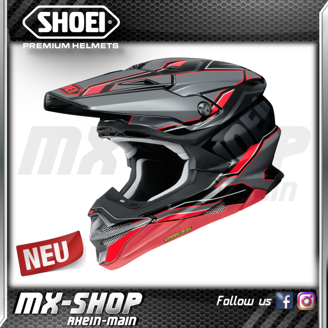 SHOEI Helm VFX-WR Allegiant TC-1