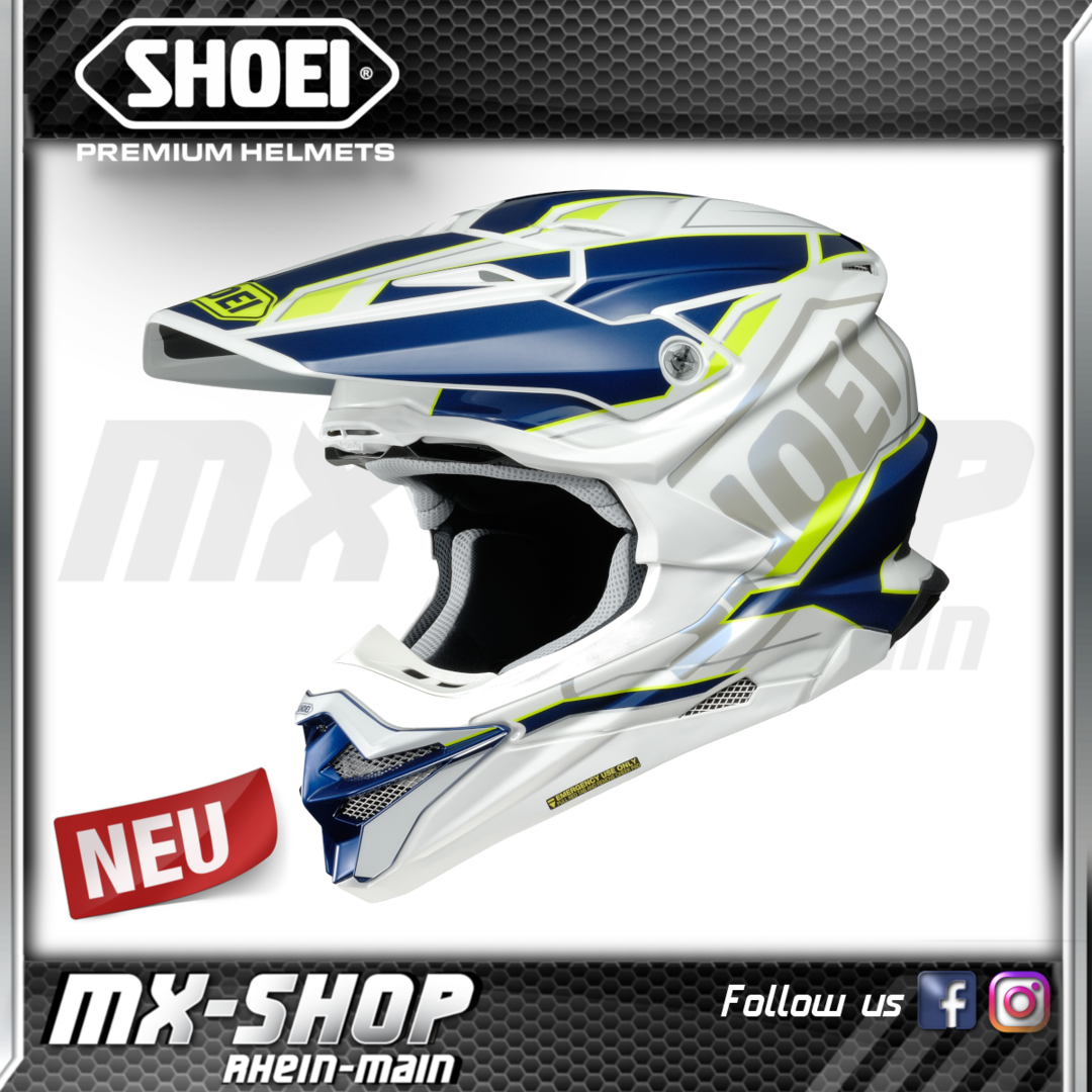 SHOEI Helm VFX-WR Allegiant TC-3
