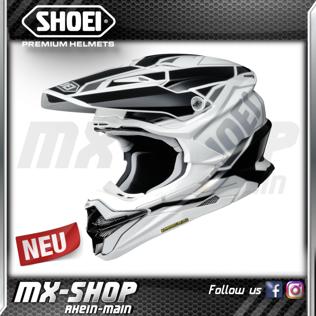 SHOEI Helm VFX-WR Allegiant TC-6