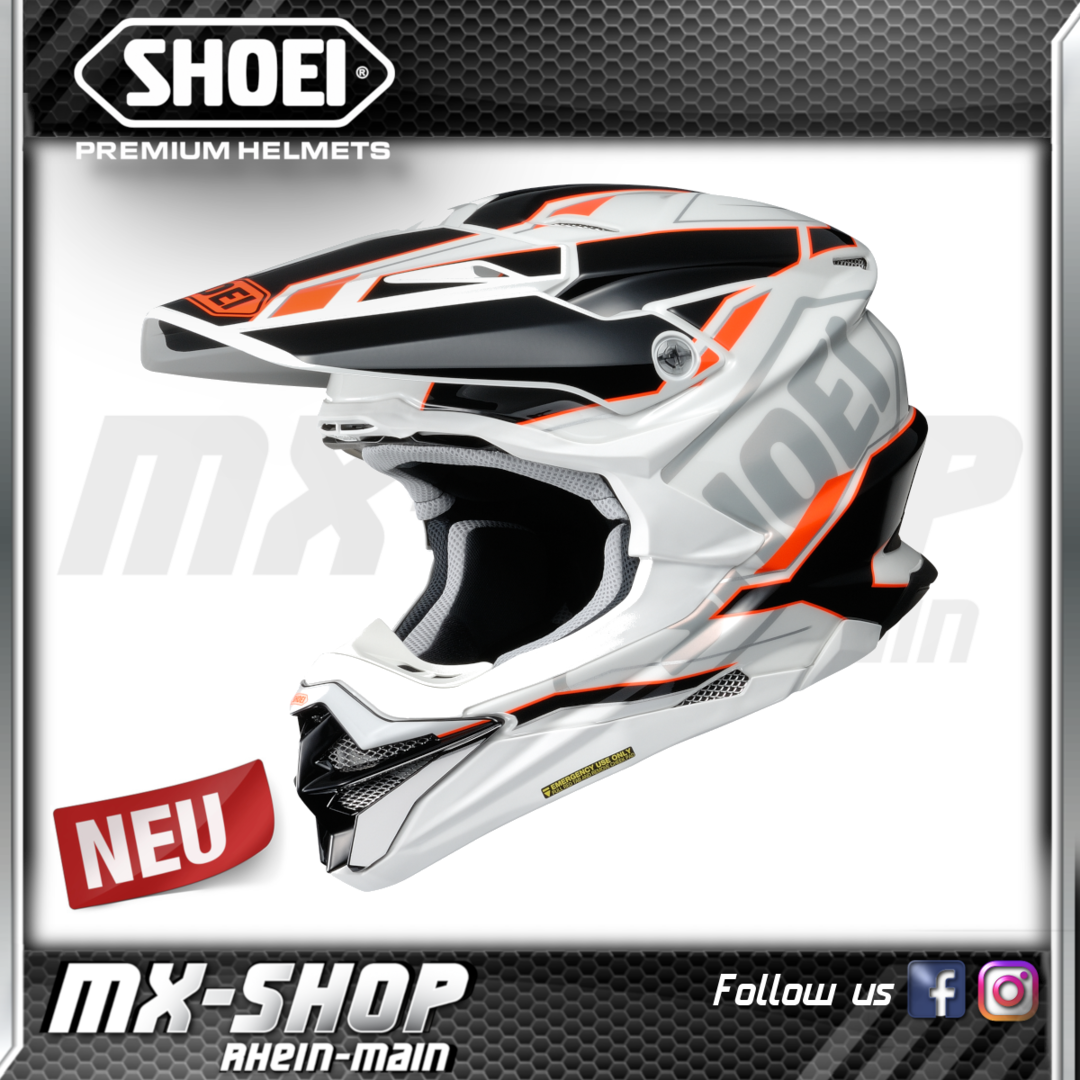 SHOEI Helm VFX-WR Allegiant TC-8