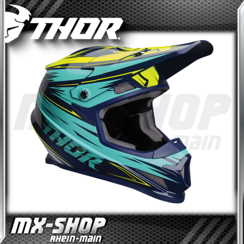 THOR MX-Helm SECTOR WARP NAVY/TEAL