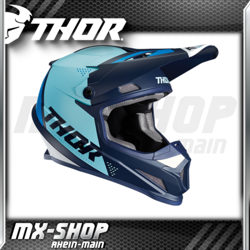 THOR MX-Helm SECTOR BLADE NAVY/BLUE