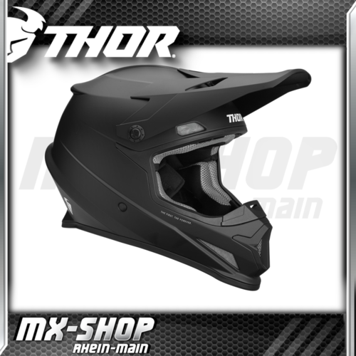 THOR MX-Helm SECTOR BLACK