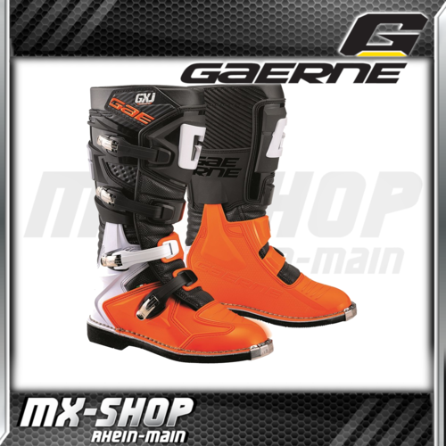 GAERNE MX Kinder-Stiefel GX-J schwarz-orange 2020