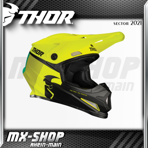 THOR MX-Helm SECTOR RACR ACID/LIME 2021