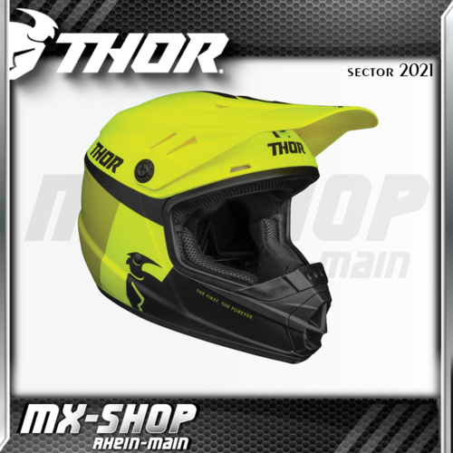 THOR Kinder-Helm SECTOR RACER ACID/LIME