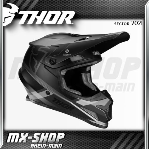 THOR MX-Helm SECTOR SPLIT CHARCOAL/BLACK MIPS 2021