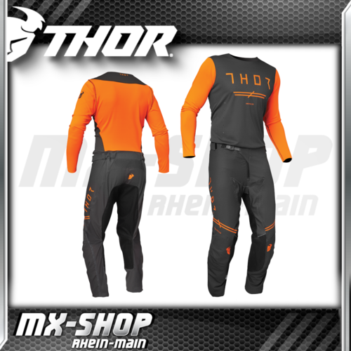 THOR MX-Jersey & Hose PRIME PRO Unrivaled Chacoral/Flo Orange