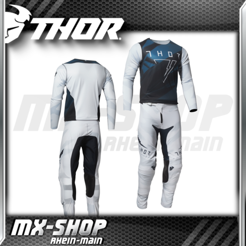 THOR MX-Jersey & Hose PRIME PRO CAST White/Midnight